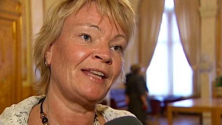 Fremskrittspartiets Kari Kjønaas Kjos. (Foto: TV 2)