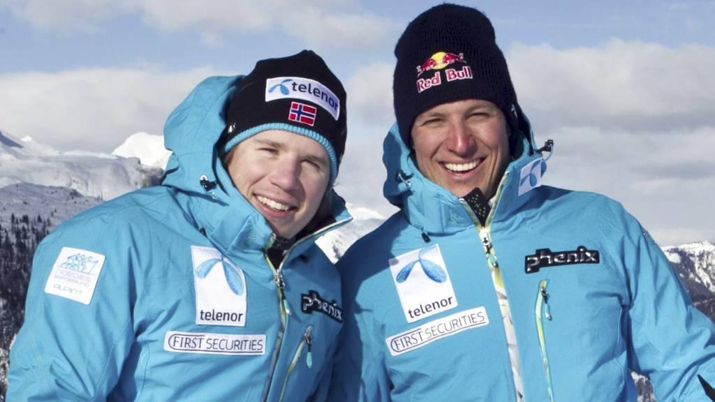 Kjetil Jansrud Aksel Svindal Kjetil Jansrud og Aksel Lund