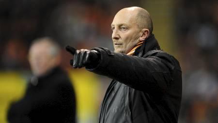 Ian Holloways Blackpool har tapt seks av sju ligakamper i 2011.   (Foto: Joe Giddens/Pa Photos)