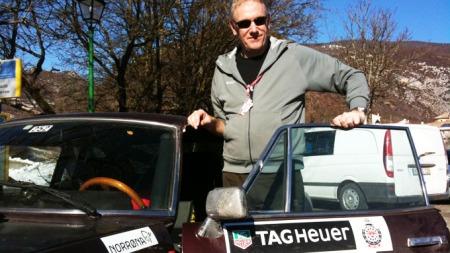 Brooms bilekspert sier neppe opp jobben for å bli rallysjåfør med det aller første - men gøy har han virkelig hatt det!
