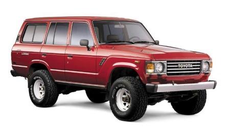 Toyota Land Cruiser 60-serien. Produsert 1980-1990. Foto: Newspress