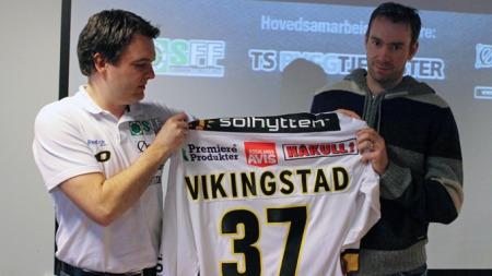 Tore Vikingstad er tilbake i Stavanger, og nå skal han bidra til at Oilers når helt opp (Foto: Frode OLsen)