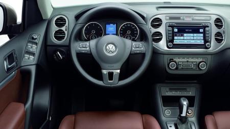 Slik blir interiøret i den faceliftede Tiguan-en. Foto: Volkswagen