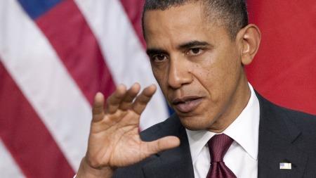 REDUKSJONSMÅL: USAs president Barack Obama har satt seg som mål å redusere USAs utslipp av klimagasser til 17 prosent under 2005-nivå innen 2020. (Foto: AFP)