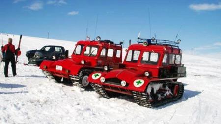 Snow Trac i sitt rette element (Foto: snow-trac.net)