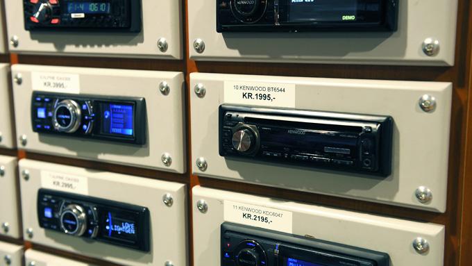 Hvis bilen din har en ettermontert stereo-enhet av denne typen, blir det enkelt og ikke nødvendigvis kostbart å bytte til DAB: Da bare erstatter du dagens enhet med en som har DAB-radio. (Foto:  Egill J. Danielsen)