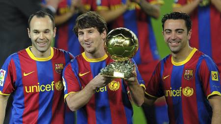 Lionel Messi (Foto: LLUIS GENE/Afp)