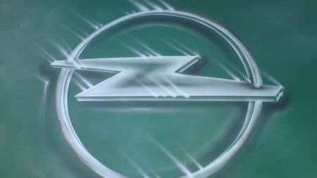 Opel-logoen hører selvfølgelig med - på panseret. (Foto: Privat)