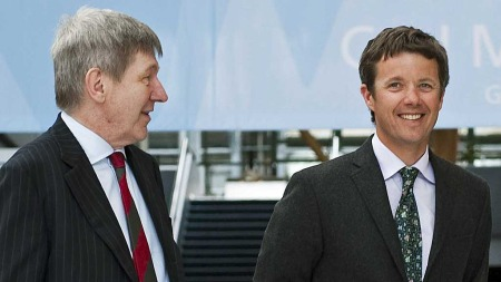 Ralf   Hemmingsen og kronprins Frederik (Foto: Stella Pictures)