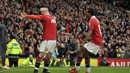 Rooney, Nani (Foto: Martin Rickett/Pa Photos)