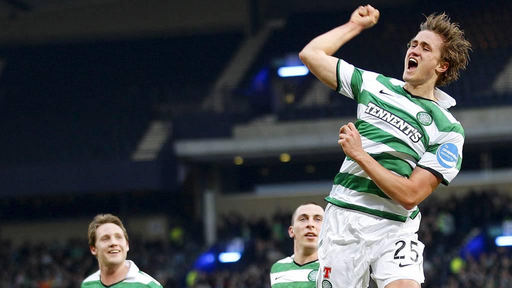 Thomas Rogne og Celtic skal skaffe seg et godt utgangspunkt før bortereturen mot HJK Helsinki i Champions Laegue-kvalifiseringen (Foto: DAVID MOIR/Reuters)
