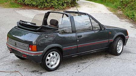 CTI kombinerte den kule stilen fra GTI med cabriolet-luksus. Foto: Privat