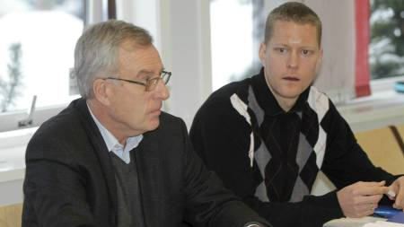 ANKER: Erik Tysse (th) og advokat Gunnar Martin Kjenner. (Foto: Holm, Morten/SCANPIX)