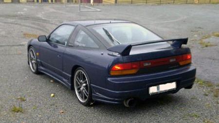 Hatchbacken som i Europa het 200 SX ble solgt som 180 SX i hjemlandet. Foto: Privat