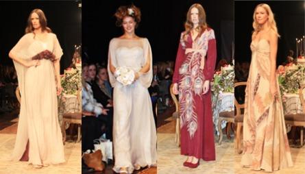 FEMININT: Onsdagens visning bød på fotside kjoler i kjent Hafzi-stil.