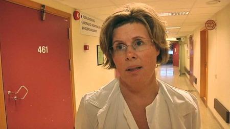 BEKLAGER DØDSFALLET: Avdelingsoverlege Anja Holstad. (Foto: Harald Jacobsen)