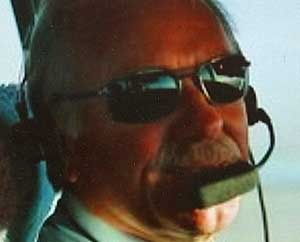 GADDAFIS PRIVATPILOT:  Odd Birger Johansen fra Drammen er oberst Gaddafis privatflyger. (Foto: Privat)