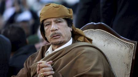 Gaddafi (Foto: STR/Reuters)