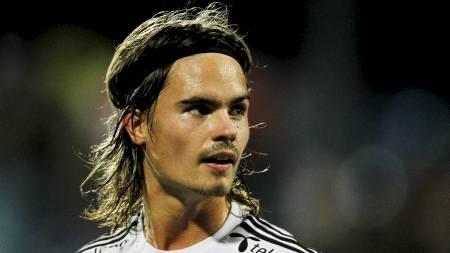AKTUELL FOR CELTIC: Mikael Lustig er ferdig i Rosenborg etter sesongen. Nå bekrefter spillerens agent at den skotske klubben Celtic kan bli svenskens neste stoppested. (Foto: Larsen, Håkon Mosvold/SCANPIX)