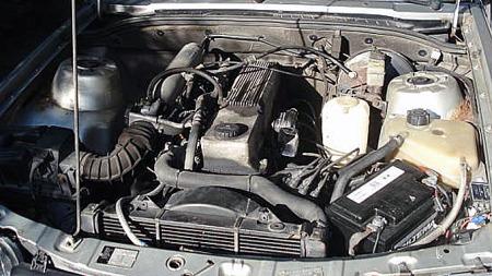 Opels 3-literssekser var kanskje ikke direkte sportslig satt opp, men 180 hestekrefter, bra skyv og en herlig lyd vakte likevel ha-begjær. Foto: Privat