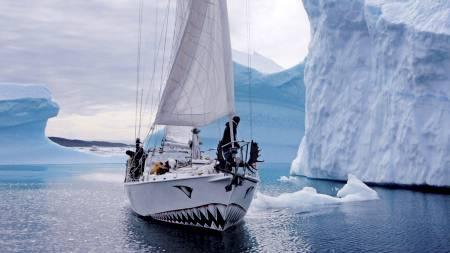 SAVNET: Seilbåten Berserk er savnet i Sørishavet og redningssentralen på New Zealand har ikke hørt noe siden en av nødpeilerne på båten ble utlløst. (Foto: Jarle Andhøy/Scanpix)