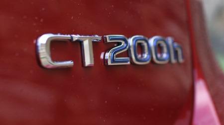 CT200h-emblem (Foto: Ditlev Eidsmo)
