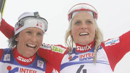 Marit Bjørgen og Therese Johaug (Foto: Larsen, Håkon Mosvold/Scanpix)