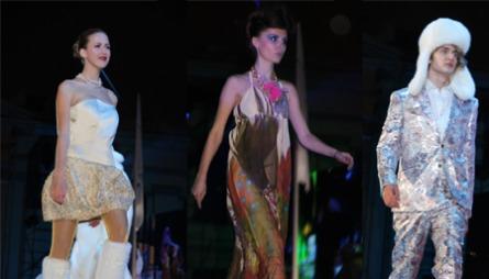 VARIERT: Den klassiske Moods-dressen i vinterkjølig palett, etnisk-inspirert kjole og selvsagt en ekte isprinsesse.