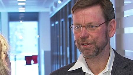 HADDE IKKE KONTROLL: Direktøren i Vestre Viken, Nils Fredrik Wisløff, innrømmer at man ikke har hatt kontroll på økonomien i foretaket.  (Foto: TV 2)