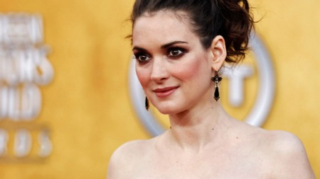 Winona Ryder arrives at the 17th Annual Screen Actors Guild Awards on Sunday, Jan. 30, 2011 in Los Angeles. (AP Photo/Matt Sayles)