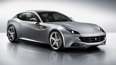 Og slik ser den ut utenpå - nye Ferrari FF.