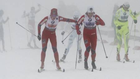 Maiken Caspersen Falla (t.v.) og Astrid Uhrenholdt Jacobsen (Foto: Larsen, Håkon Mosvold/Scanpix)