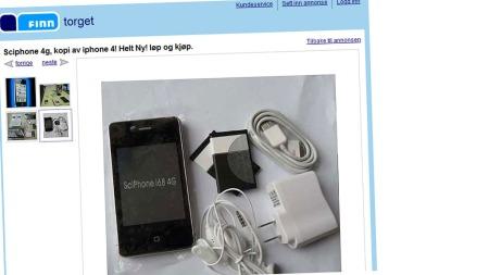iphone-4 (Foto: Faksimile FINN.no)