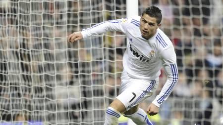 Cristiano Ronaldo (Foto: PIERRE-PHILIPPE MARCOU/Afp)