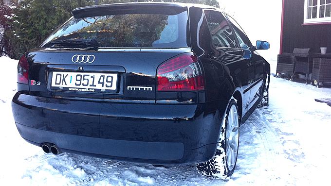 MTM-betegnelsen viser at dette ikke er en helt standard S3. (Foto: Privat)