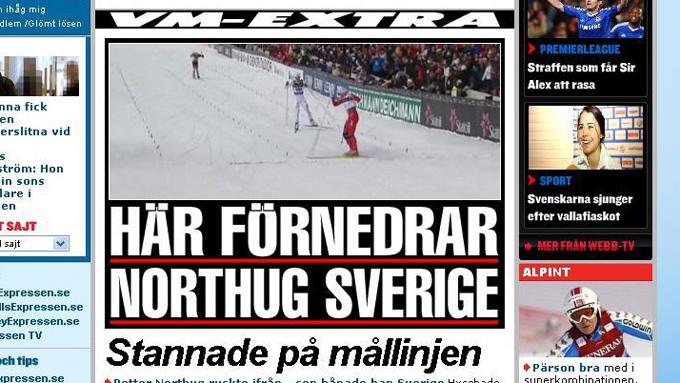 expressen (Foto: Skjermdump: Expressen)