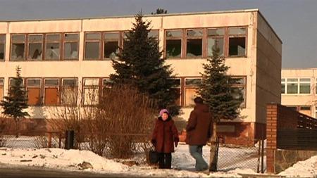 FRA LITAUEN TIL BERGEN: Barna som ble tatt i Bergen kommer fra den lille byen Tauragé i Litauen. (Foto: Kåre Breivik )
