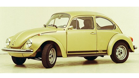Sissel Olsens 1974 Boble mistenker vi ut fra omtalen at ser litt heftigere ut enn denne fabrikknye, selv om dette er en 1303 Big Bug-versjon. Foto: VW