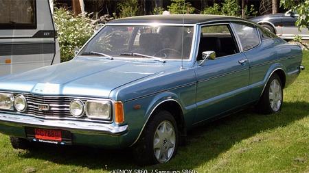 Det ble faktisk solgt en del av de sportslige Taunus-coupeene   da de var nye. De ble senere meget populære ungdomsbiler, og det har   nok gått hardt ut over overlevelses-prosenten. Foto: Privat