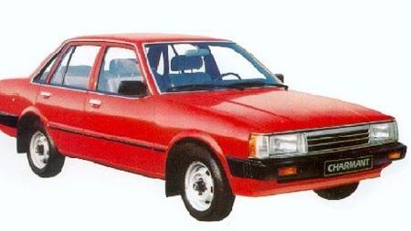 Ikke jeg heller. Daihatsu Charmant var alt for alminnelig ordinær,   nesten som en vanlig Mazda eller Toyota dengang på 80-tallet.