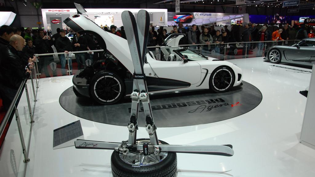 Koenigsegg underbilde (Foto: Are J. Heiseldal)