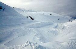 Forhåpentligvis nok snø til å holde anlegget åpent hele sommeren. (Foto: Jan Petter Svendal)