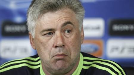 BER OM FOKUS: Chelsea-manager Carlo Ancelotti. (Foto: IAN KINGTON/Afp)