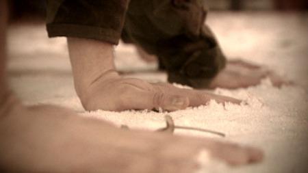 Frostskade-hender på snoe (Foto: Christian Moen)