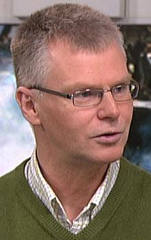 Sikkerhetssjef Atle Valseth ved Institutt for energiteknikk. (Foto: TV 2)