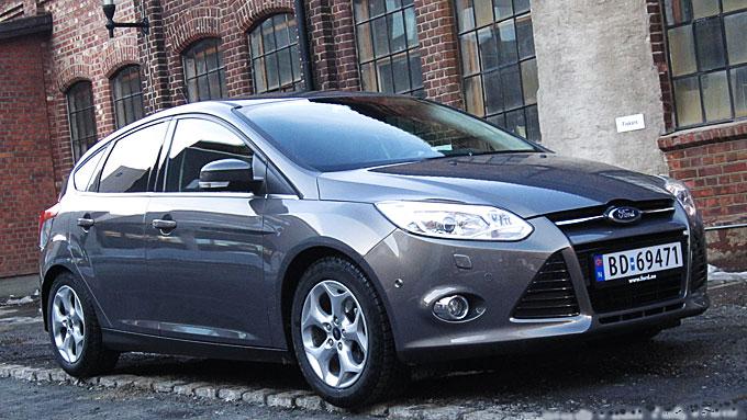Ny Focus er med på å gi Ford skikkelig vind i seilene.