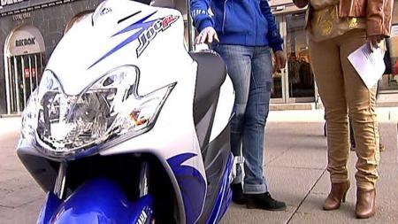 Yamaha Jog50R (Foto: TV 2)
