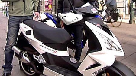 Scooter - Peugeot Speedfight 50 cc  (Foto: TV 2)