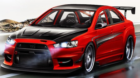 Lancer-Evolution-X