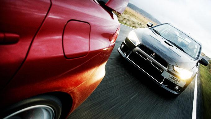 Siste skudd på Evo-stammen så langt: Mitsubishi Lancer Evo X